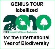 Genius Tour labelled for the international year 2010 on Biodiversty
